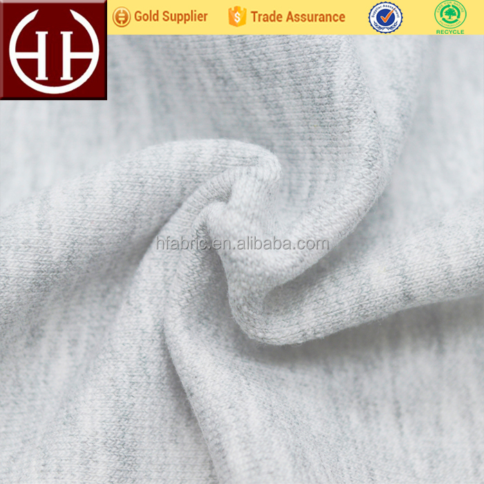 80%Cotton 20%polyester french terry hoodie sweatpants hoodies fabric