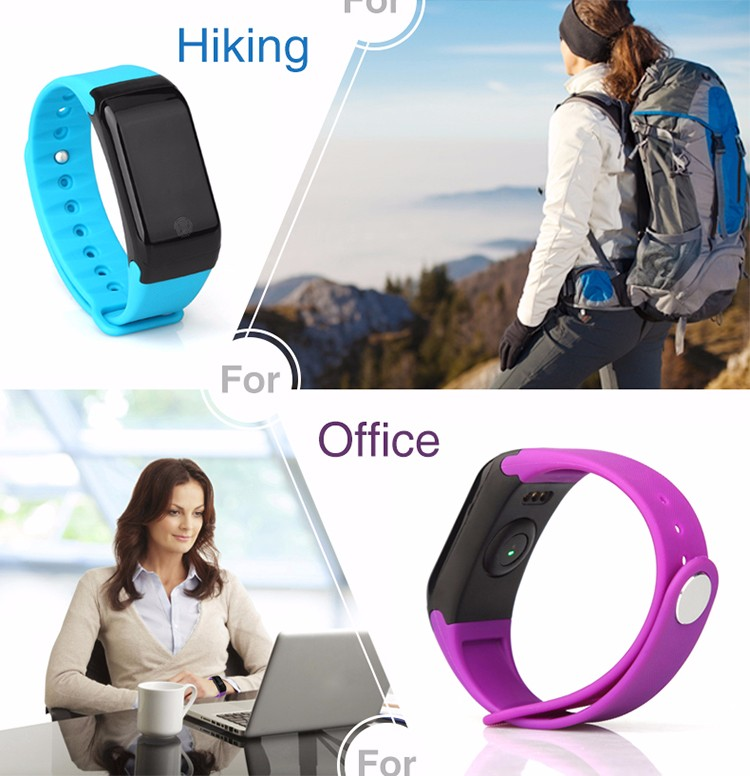 X7 smart band heart rate air temperature smart movement healthy bracelet