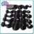 7A body wave 100% virgin remy human hair weaving 3 bundle indian hair with closure