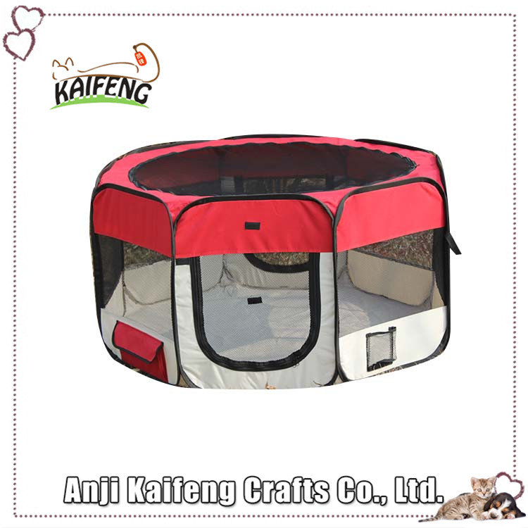 kaifeng famous bulk pet supplies, foldable dog eight panels nylon metariel for puppy toys
