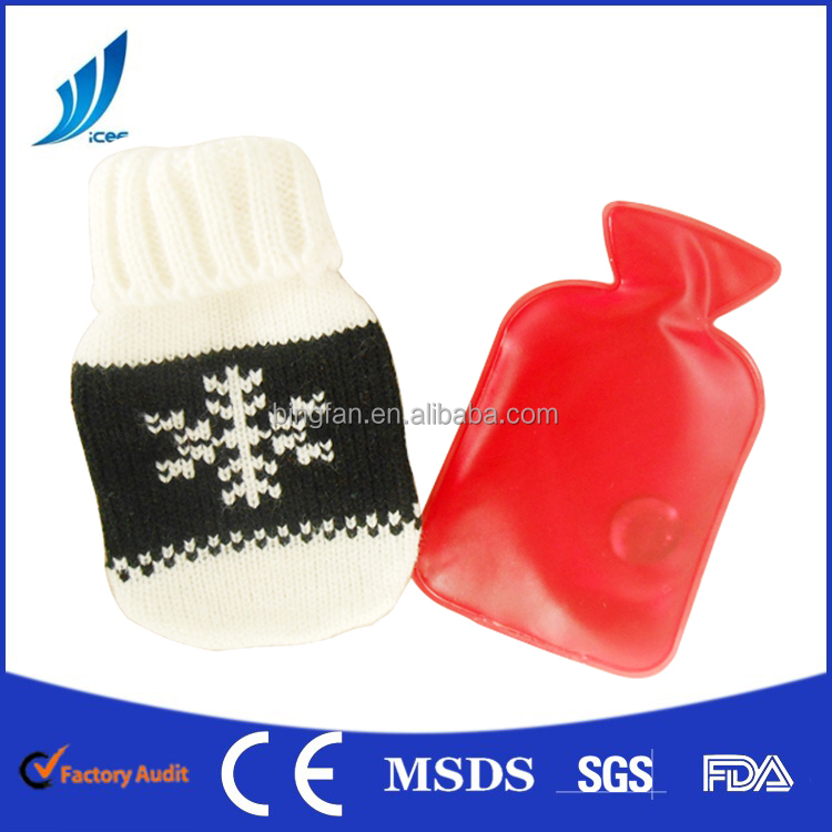 BF-RD26 Reusable Hot Packs Hand Warmer wholesale with knitted cover