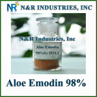 98% Aloe Emodin Powder from Aloe Extract