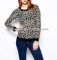 2014 The latest fashion Spring season women's blouses(YS30001)