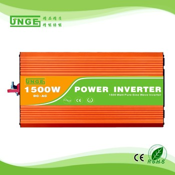 1500W off-grid high frequency solar electric hybrid pure sine wave inverter 48v