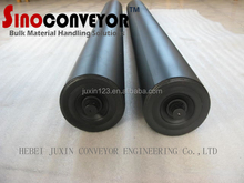 DIA 114 conveyor roller with red common paiting, layrinth seal roller of conveyor