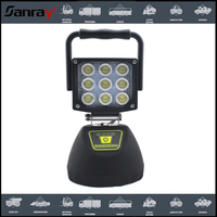HOT SALE! Best Qulity ! 27W led work light Rechargeable Strong Magnetic 3w for auto offroad super convenient