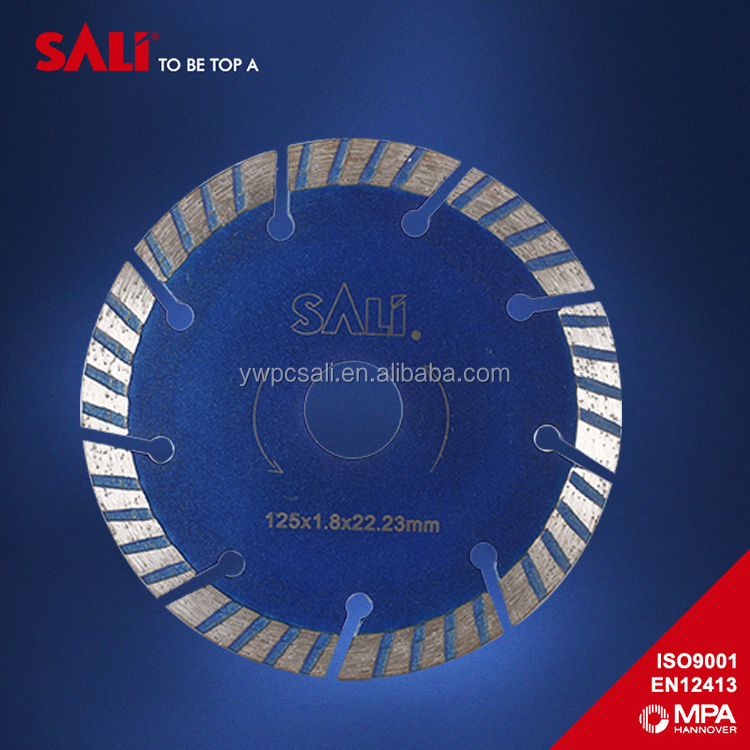 SALI Brand dry cutting diamond segment saw blade for concrete