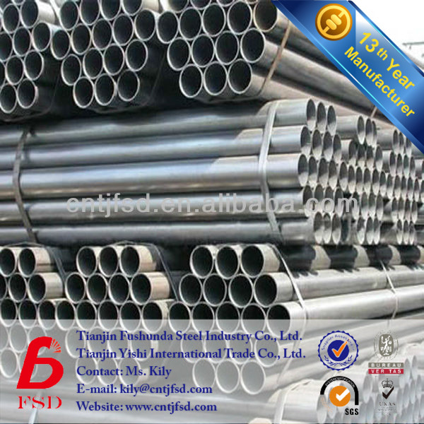 Make Machine Hot Dipped Galvanized Steel Gi Pipe Size Full Form