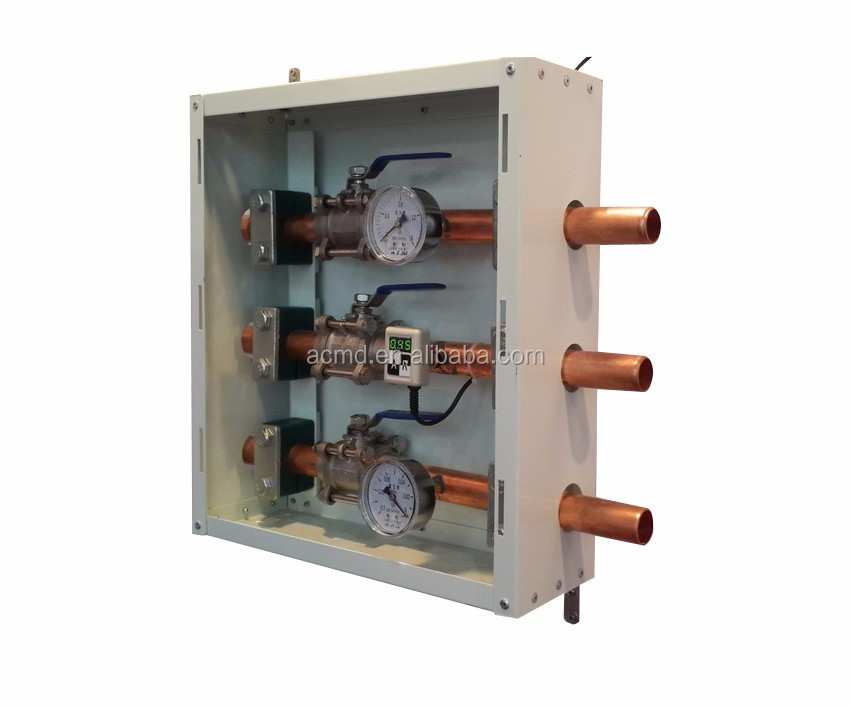 ACMD Manufacturer 3 Gases Zone Valve Box for Flow Control