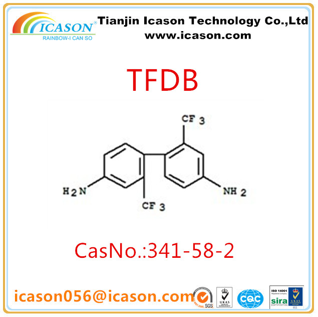 colorless Polyimide raw material TFDB/TFMB CASNO.:341-58-2