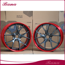 Great durability Two Pieces Forged wheel car rims aluminium alloy