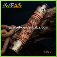 Factory Manufacturer X Fire E fire Efire Vision Original Spinner Wooden Battery 1100mah