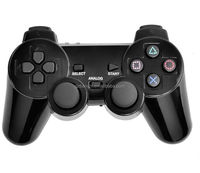Top selling 3 in 1 wireless gamepad for ps3 double vibration game console