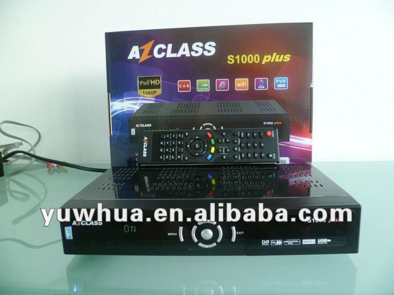 azclass s1000plus similar to azamerica S930A/S922 hd twin tuner with nagra3 IKS free DECOD receiver