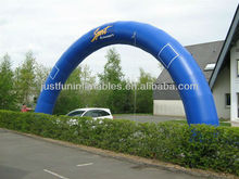 giant inflatable arch sport bright blue