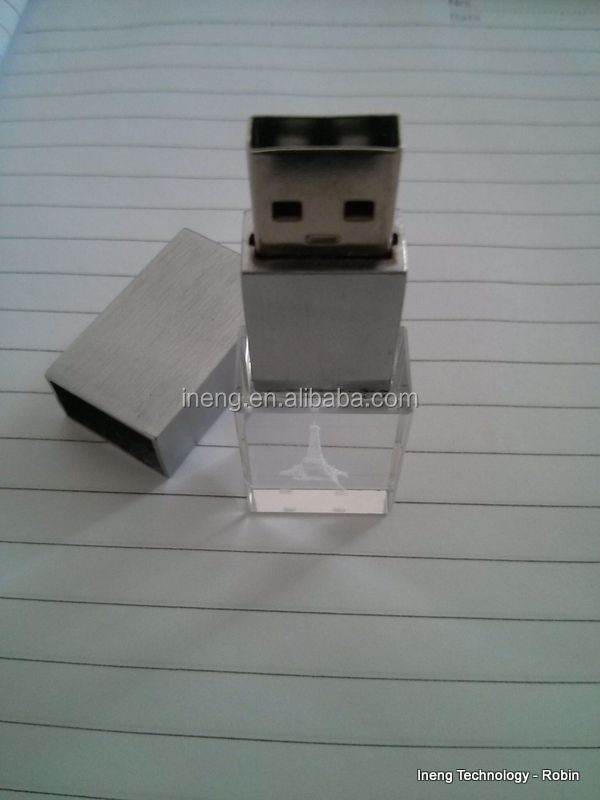 Best selling products promotional crystal usb flash drive 2gb 4gb 8gb