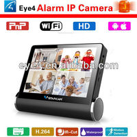 7 Inch Screen NVS-K200 NVR with Wifi CCTV IP Camera H.264 Wireless Camera Security System SD Card