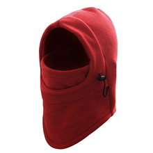 6-in-1 Ski Face Mask Winter Thermal Scarf Fleece Bicycle Face CS Mask Multifunction winter hat