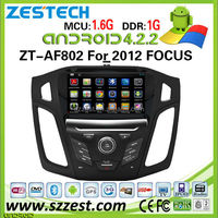 ZESTECH Factory direct-sale android 4.4.4 car gps radio for FORD FOCUS 2012 car dvd with DDR3 8GB flash 1.6Ghz CPU