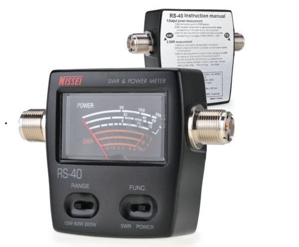 Radio Frequency Power Meter : Two way radio frequency meter counter rs vhf uhf