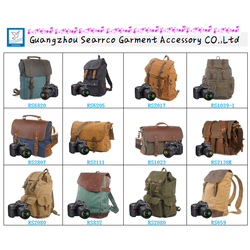 Multi functional Canvas Camera Backpack Bags Messenger Digital Camera Bags
