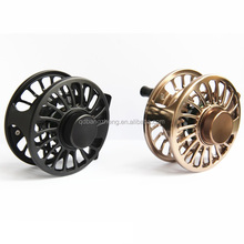 Super Light Weight and Quick change 100% Sealed drag System Truly Large Arbor cnc fly reel