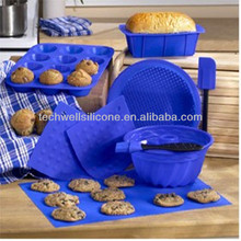 CM-704 non stick silicone children's baking set