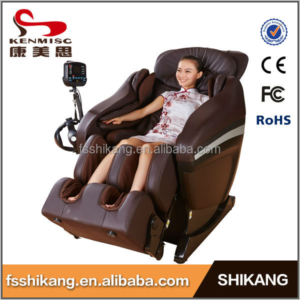 Sex living room 3D zero gravity electric foot vibrator massage chair