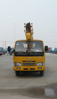 Hot sale product 6 wheeler high up truck DongFeng 4*2 high altitude operation truck