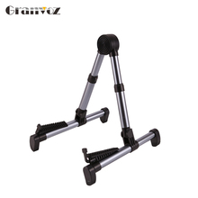 On Stage adjustable A-Frame acoustic guitar stand playing position