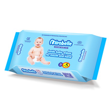 OEM Bamboo Cleansing Cotton Wet Towels for Babies Wet Wipes India