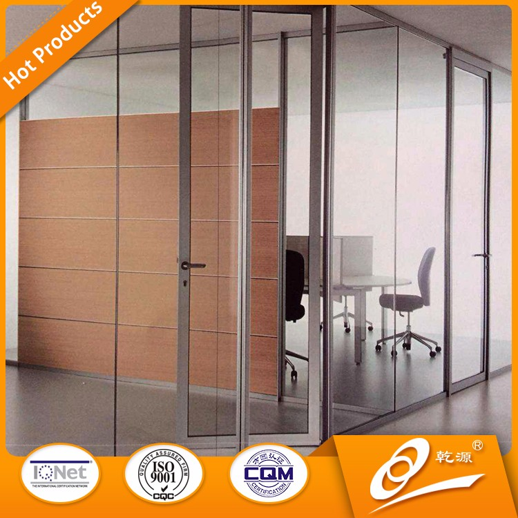 2017 Unique Design Economic Decorative Office Glass Partition Wall