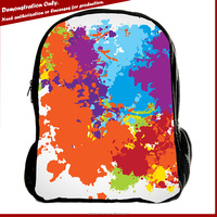 Wholesale new promotion custom rucksack promotional korean backpack bag