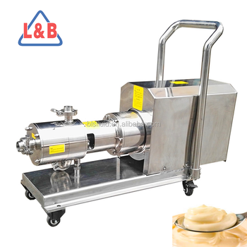 Stainless Steel 3000RPM Emulsifying Salad Dressing Mixer Pump