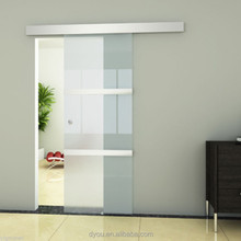 Unbreakable Glass Frosted Sliding Doors China Supplier
