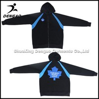 polyester Polar Fleece plain winter men's outdoor wholesale fleece baseball jacket