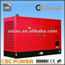 competitive price 110kva lovol diesel generator with ISO CE