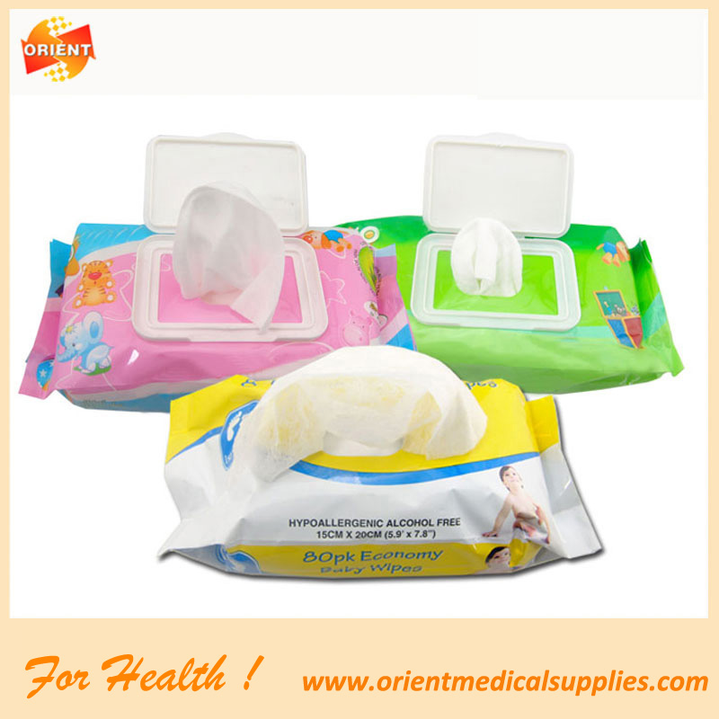 baby wet wipe/baby wipes packaging/water only baby wipes