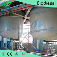After-sales Service Provided biodiesel production line making used vegetable oil for Biodiesel