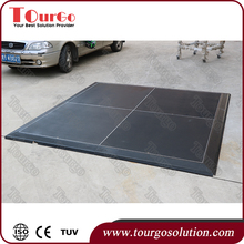 Auto show floor Exhibit Floors Portable Event Flooring TourGO