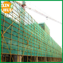Green Blue Color Logo Printed Plastic Scaffold Netting