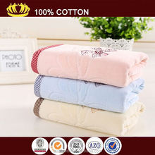 wholesale100% cotton embroidery jacquard terry cheap towels