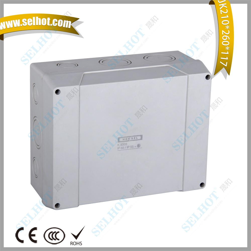 fiber optic equipment 210*260*117 electrical termination for distribution board