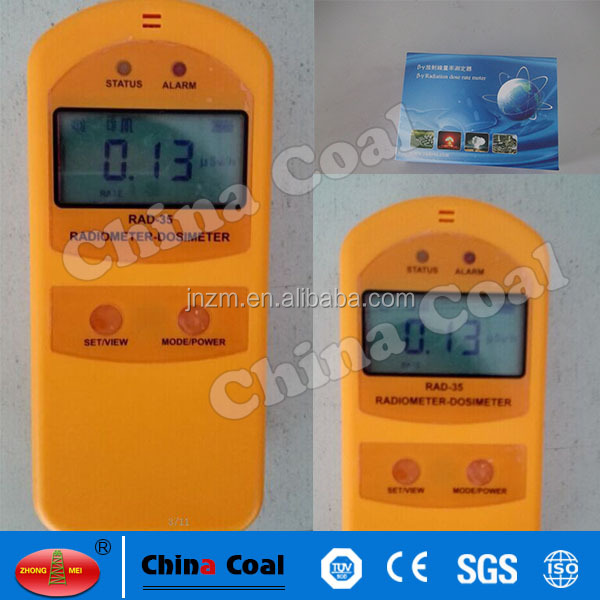 High quality radiation dosimeter RAD-35 beta and gamma