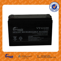 Guangzhou factory lead acid agm recharge 12v 100ah SOLAR GEL DEEP CYCLE 12v 100ah deep cycle battery for brazil market
