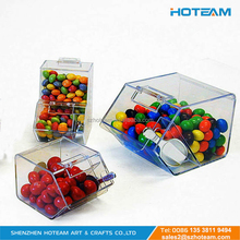 PMMA Plastic Sweet Box Handmade Mini Acrylic Candy Bin Gift Box