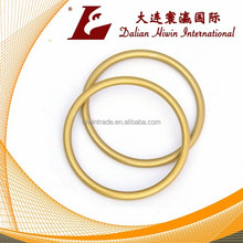Gold Aluminum Round Sling Rings