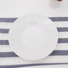 "High quality wholesale dinner ware cheap bulk round 8.25"" soup plate for restaurant and kitchen"