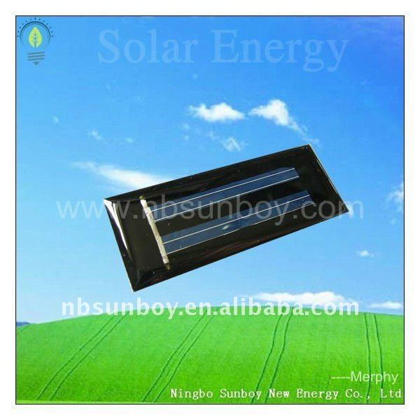 1V 50mA epoxy resin mini solar panel for toy