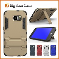 Phone accessory combo pc tpu stand armor case mobile phone cover for Samsung Galaxy S6 G9200